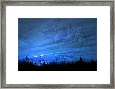 Serenity Guardians  Framed Print