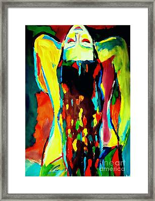 Framed Print featuring the painting Serenity by Helena Wierzbicki