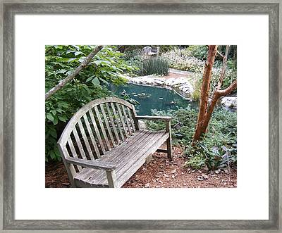 Serenity  Framed Print by James and Vickie Rankin