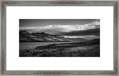 Framed Print featuring the photograph Serenity by Jason Moynihan