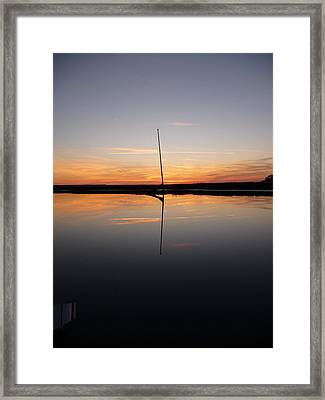 Framed Print featuring the photograph Serenity by Joel Deutsch