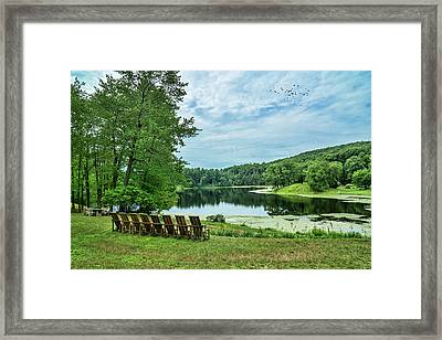 Serenity Framed Print by June Marie Sobrito