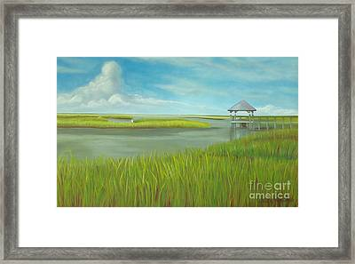 Serenity Framed Print by Lacey Wingard