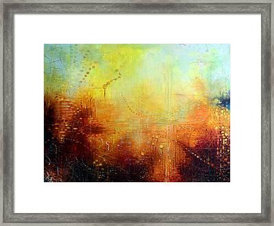 Serenity Framed Print by Lolita Bronzini