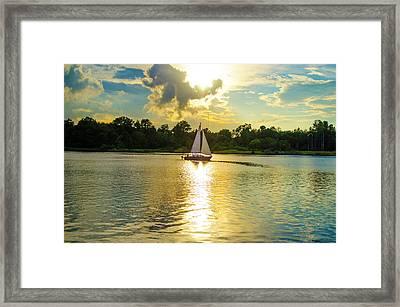 Serenity  Framed Print by Mary Ward