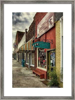 Framed Print featuring the photograph Serenity Mountain by Greg Mimbs