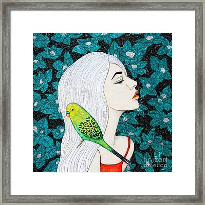 Serenity Framed Print by Natalie Briney