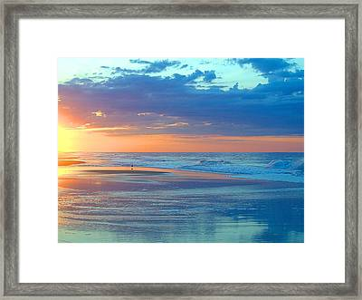 Framed Print featuring the photograph Serenity by  Newwwman