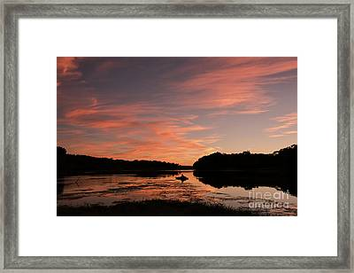 Serenity Framed Print by Nicki McManus