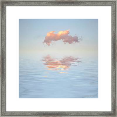Serenity Now Framed Print by Jerry McElroy