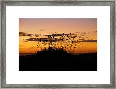 Serenity Point Sunset Framed Print