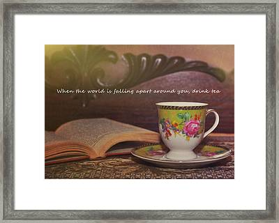 Serenity Quote Framed Print by JAMART Photography