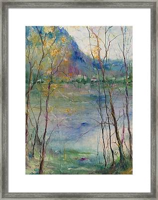 Serenity Framed Print by Robin Miller-Bookhout
