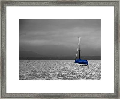 Framed Print featuring the photograph Serenity by Ron Dubin