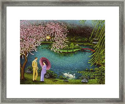 Serenity Framed Print by Tracy Dennison