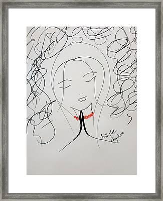 Serenity  Framed Print by Trilby Cole