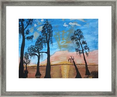 Serenity Framed Print by Warren Thompson
