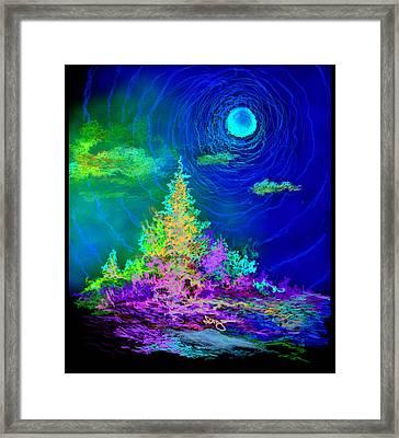 Serenity Framed Print by William Vanya