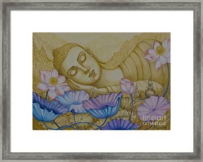 Serenity Framed Print by Yuliya Glavnaya