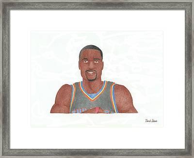 Serge Ibaka Framed Print