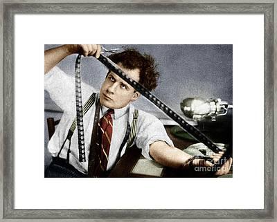 Framed Print featuring the photograph Sergei Eisenstein by Granger