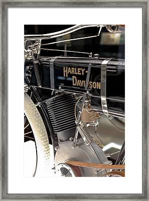 Framed Print featuring the photograph Serial Number One by Susan Rissi Tregoning