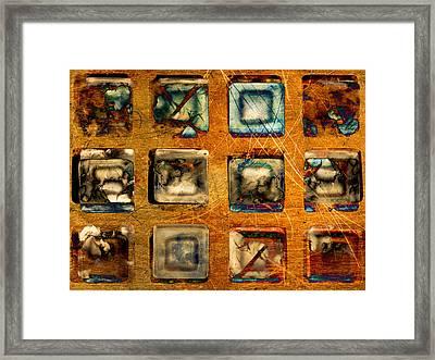 Serial Variation Framed Print