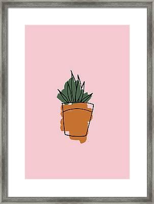 Series Pink 009 Framed Print
