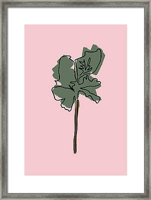 Series Pink 12 Framed Print