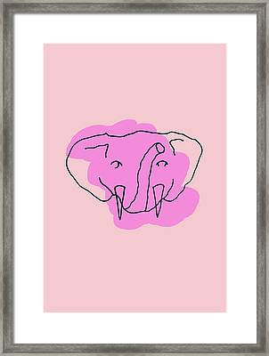 Series Pink 15 Framed Print