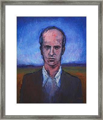 Serious Young Man 1977 Framed Print