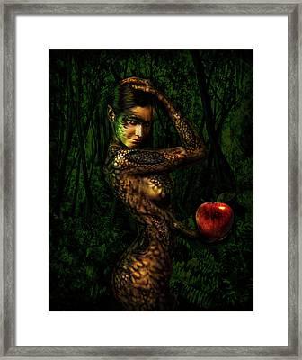 Serpent Framed Print