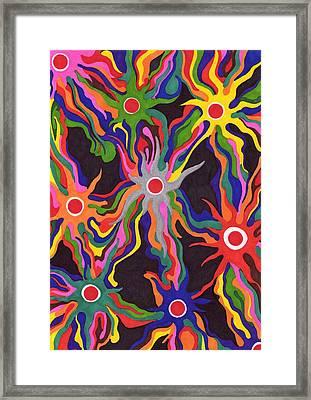 Serpent Stars Framed Print