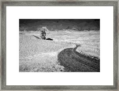 Serpentine Passage II Framed Print