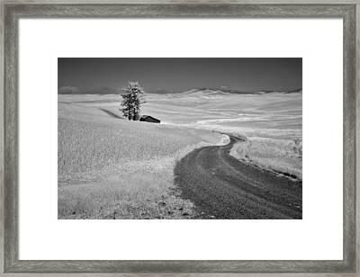 Serpentine Passage Framed Print by Jon Glaser