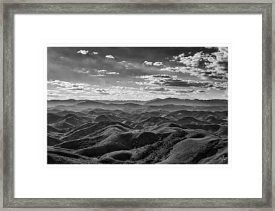Serra Da Beleza-conservatoria-rj Framed Print