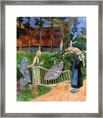 Serusier: Barriere, 1889 Framed Print by Granger