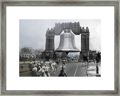 Sesquicentennial Framed Print by Eric Nagy