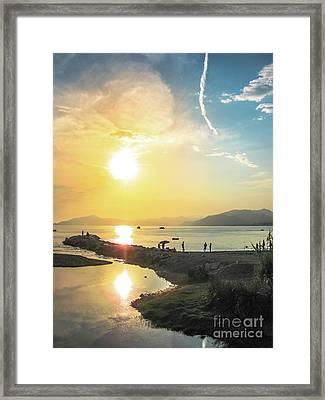 Sestri Levante Baia Delle Favole Framed Print