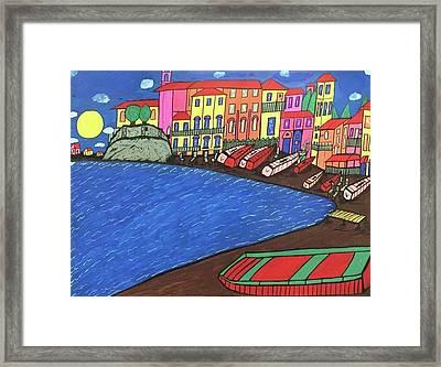 Sestri Levante Italy Framed Print