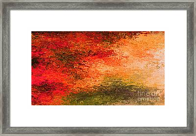 Set A Fire In My Soul Framed Print by Beverly Guilliams
