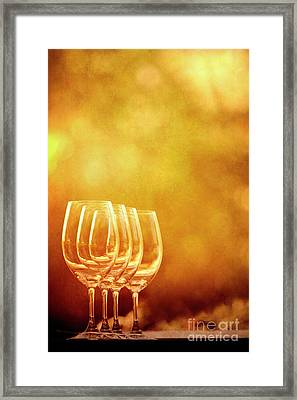 Set For Four Framed Print by Margie Hurwich