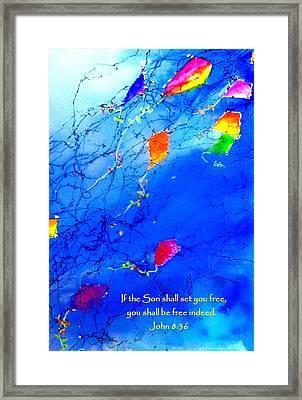 Set Free Framed Print by Anne Duke