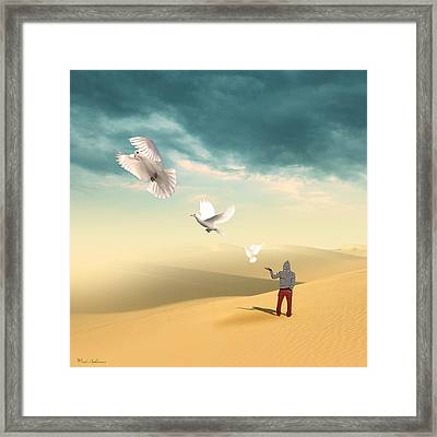 Set Me Free Again  Framed Print