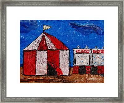 Set My Circus Down Framed Print