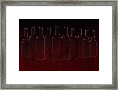 Set Of Ten Framed Print by Art Spectrum