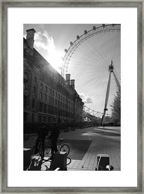 Set Of Wheels Framed Print