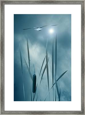 Set The Controls For The Heart Of The Sun Framed Print by John Poon