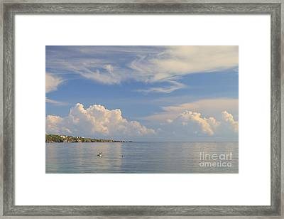 Setting Out Framed Print