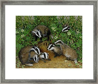 Setting Out Framed Print by Pat Scott